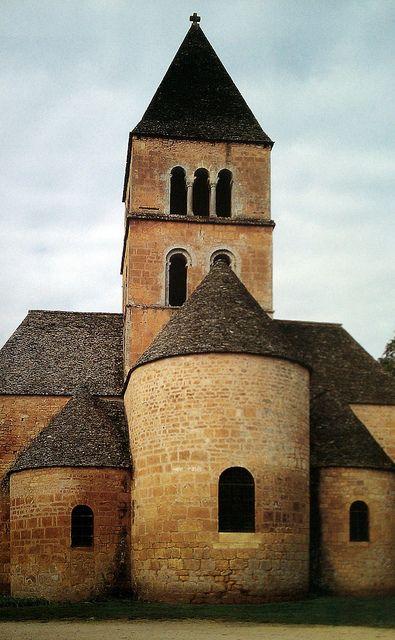 Romaans Medieval church in Dordogne, France  | by © erjkprunczyk