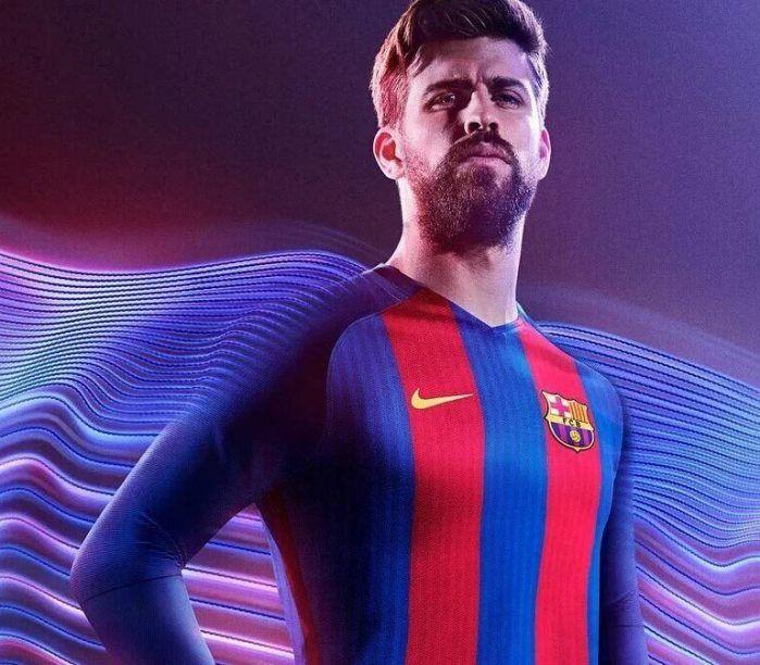 Galería de fotos de la camiseta del FC Barcelona 2016-17