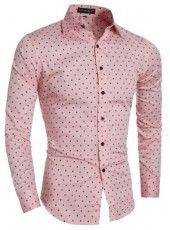 Camisa Slim Fit Elegante Casual/Social Moderna - em 4 Cores