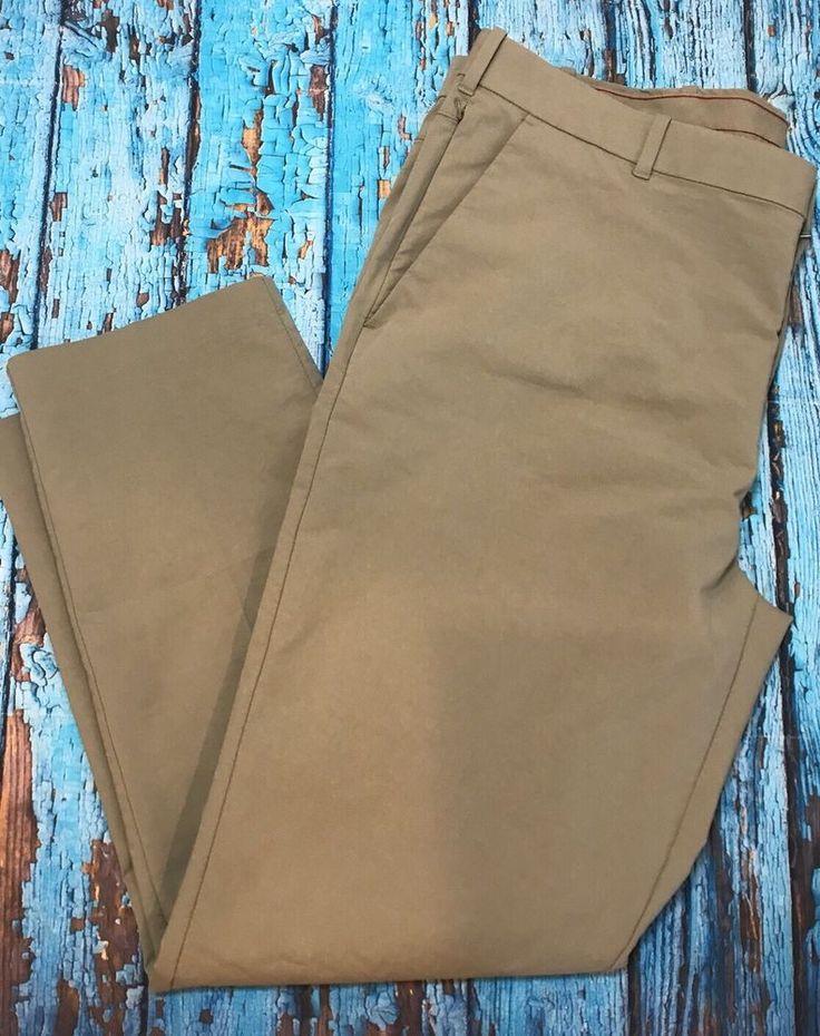 IZOD Men's Cotton Chino Khaki Pants Sz 40 40x32    eBay
