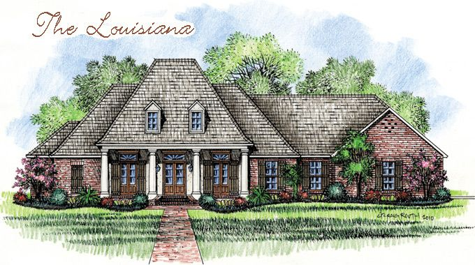 1000 images about the louisiana on pinterest louisiana for Louisiana french country house plans