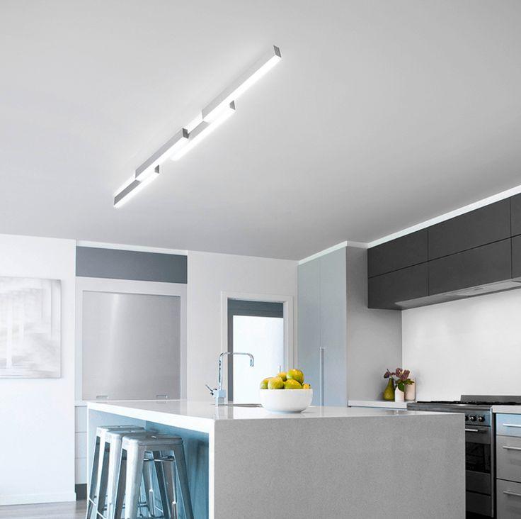 Grossmann Zon 78-772-072 Aluminium Ceiling Light
