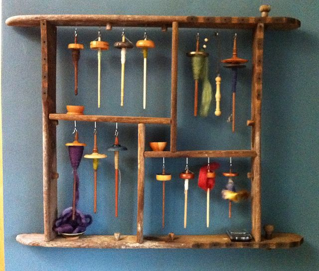 Spindle storage - Yeah... I think I'm going to need a smaller version of this soon.