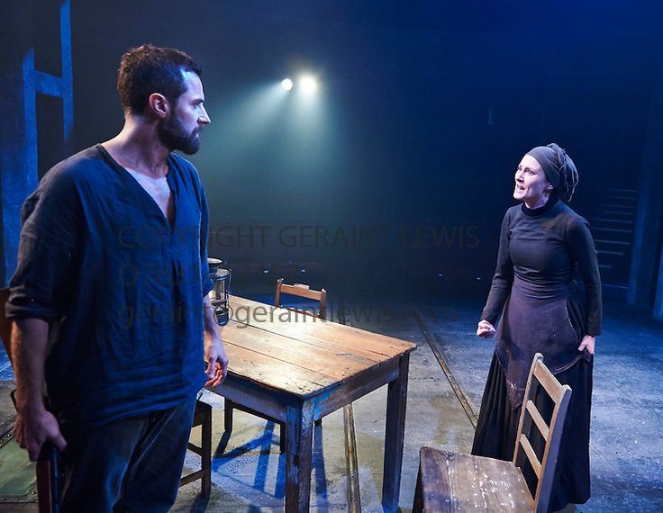 The Crucible by Arthur Miller, directed by Yael Farber. With Richard Armitage as John Proctor, Anna Madeley as Elizabeth Proctor.