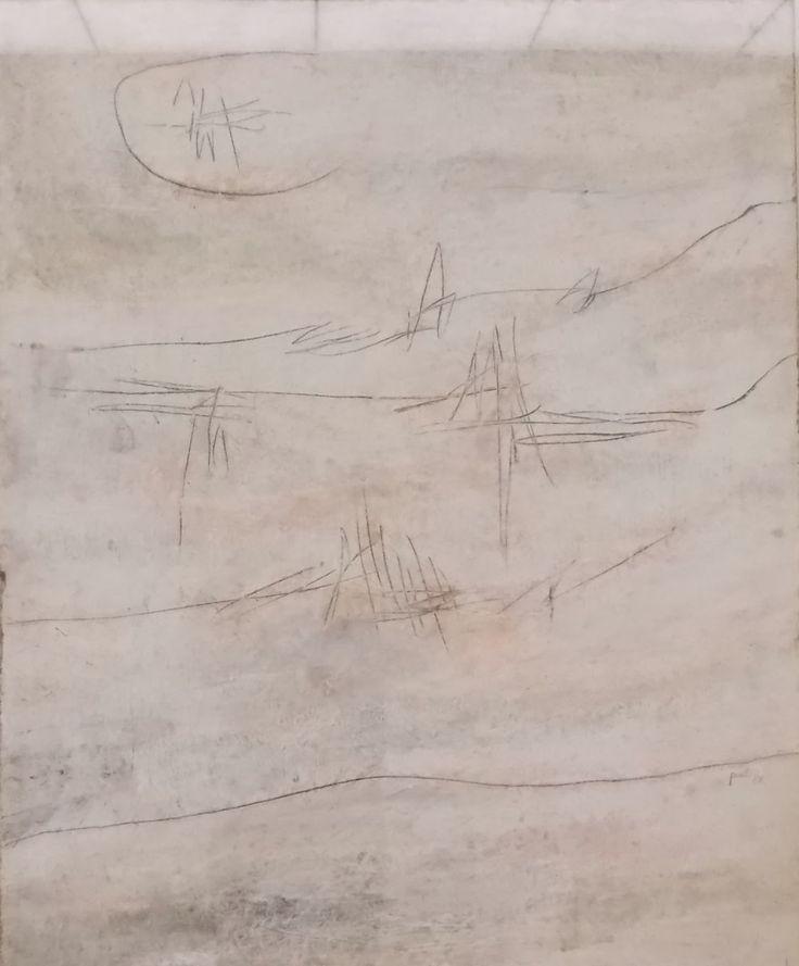 Achille Perilli, Il verificatore di favole antiche, 1958