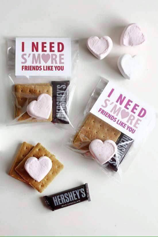 I Need S'more Friends Like You Valentine....these are the BEST Valentine Ideas for Kids!