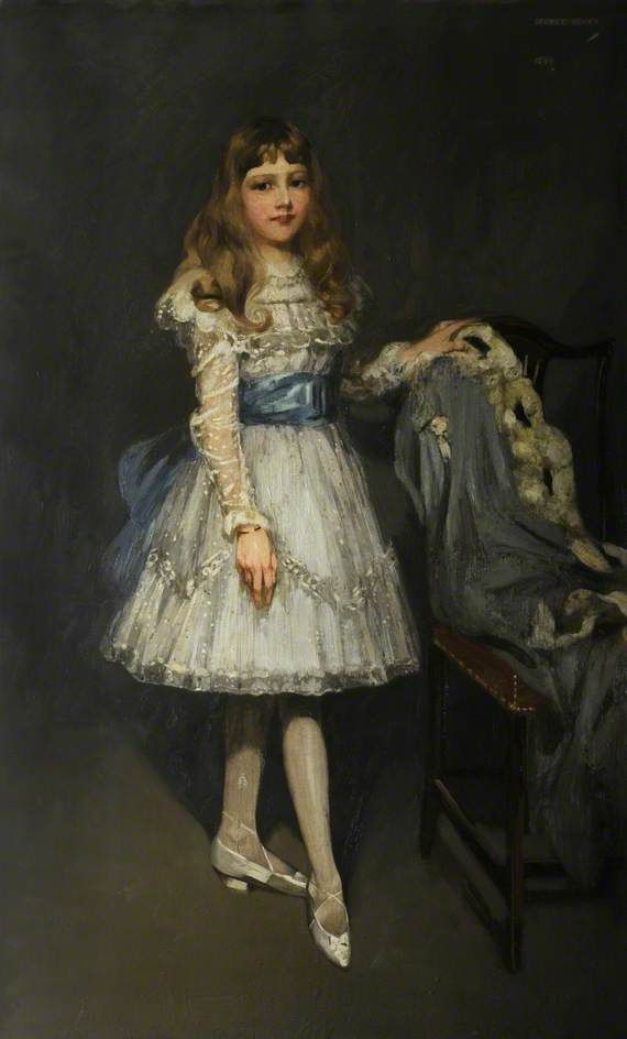 Portrait of Marion N. Parker, 1899 by George Henry (Scottish 1858–1943)