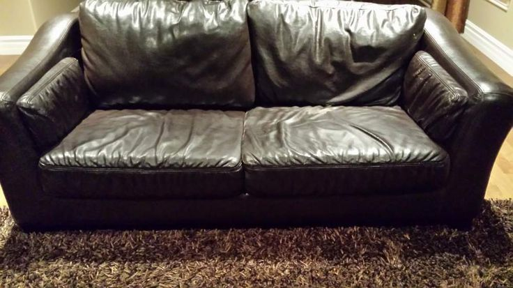 Leather 3 piece Sofa Set