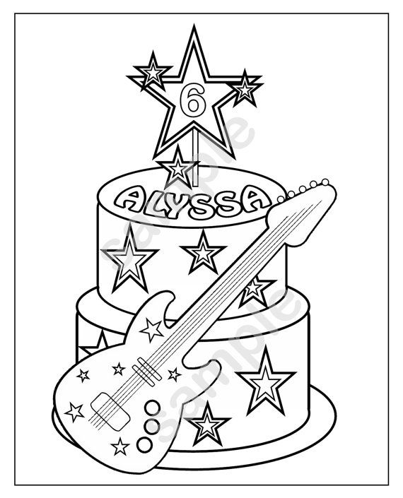 8 best images about rock star cakes on pinterest pastries