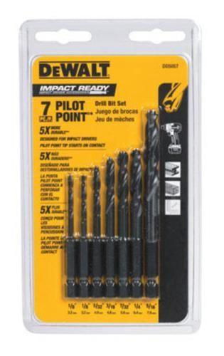 DeWalt DD5057 Impact Drilling Set - 7 Piece