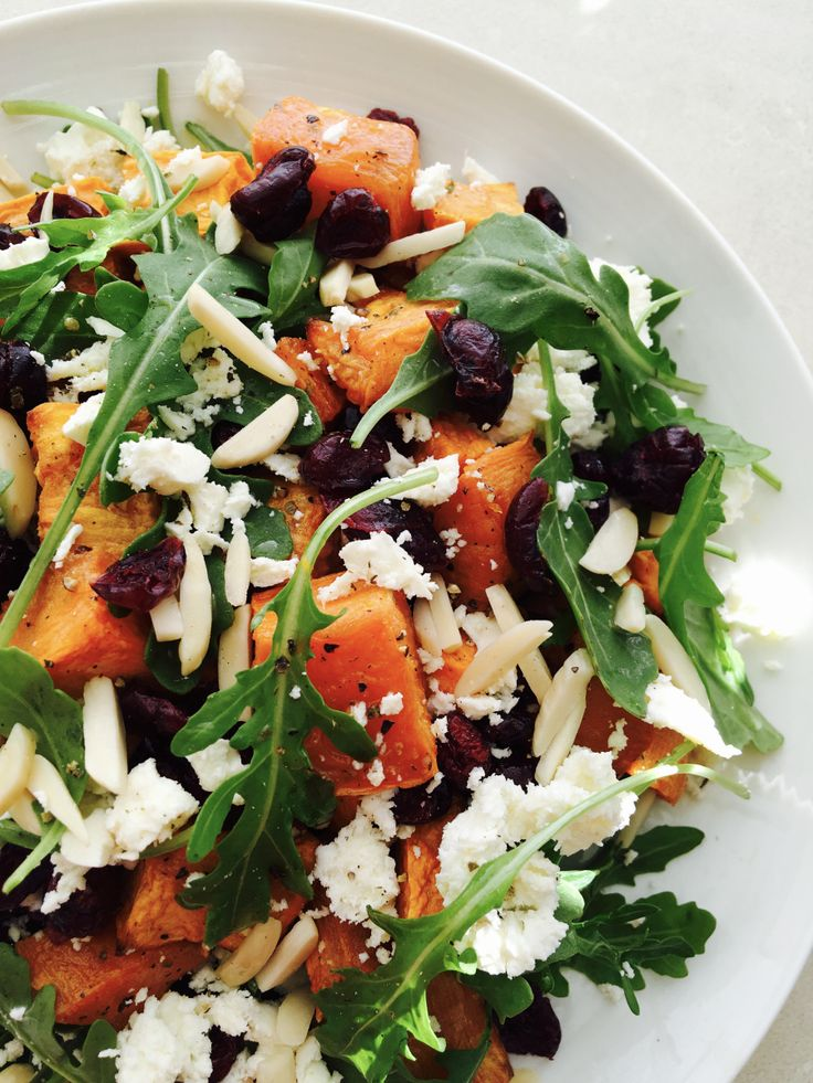 This super quick and easy sweet potato salad may never have happened had I not inadvertently contaminated my pomegranate this evening – tipping the gorgeous bright pink seeds onto a chopping …
