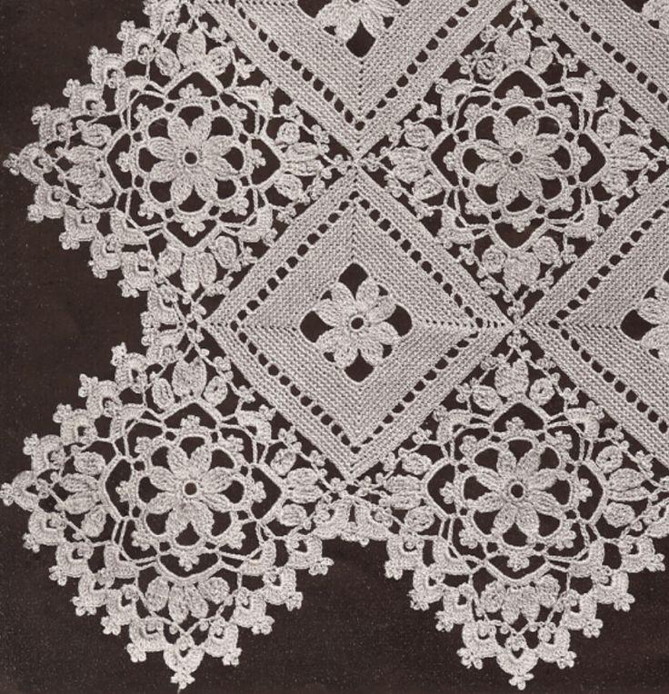 Σχέδια για βελονάκι - Crochet patterns    BlockLacePromo1.JPG (828×860)