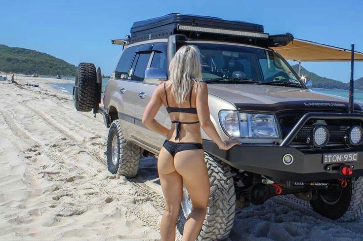 Toyota landcruiser girls