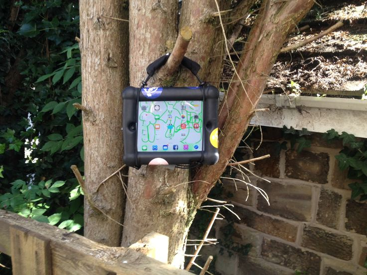 Got this photo from a lovely nursery who take their tabtoobed iPad everywhere :)