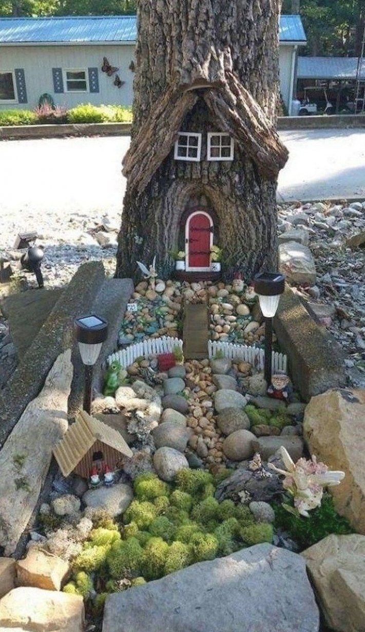 30 Tylish Fairy Garden Ideas For Kids To Have 30 Stylish Fairy Garden Ideas For Kids To Have A In 2020 Miniature Garden Fairy Garden Houses Fairy Garden