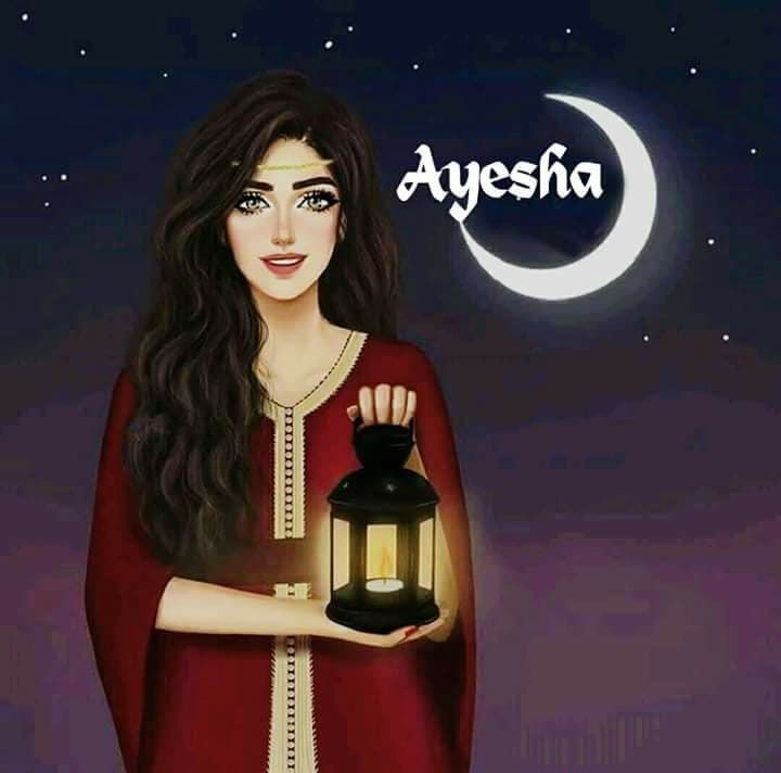 50 Stylish Ayesha Name Dp Pic Collection For Fb And Whatsapp Cute Girl Hd Wallpaper Cute Girl Drawing Lovely Girl Image