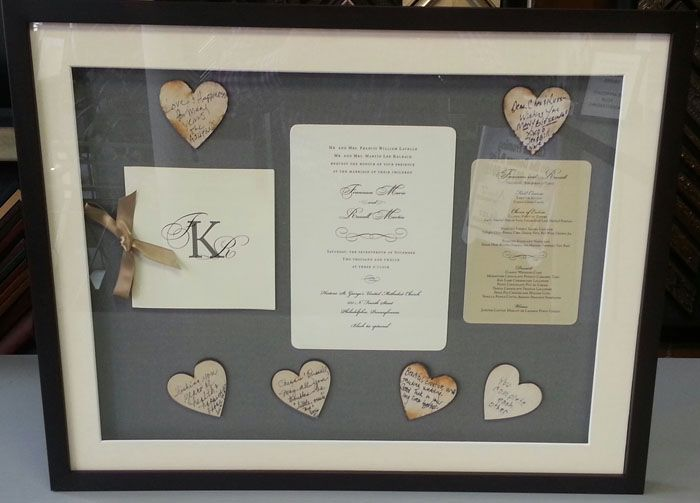 Best Framed Wedding Invitations Ideas On Pinterest Floral