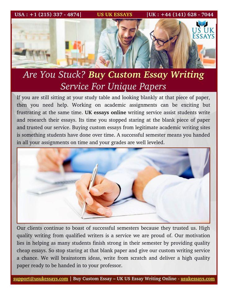 Buy unique essay