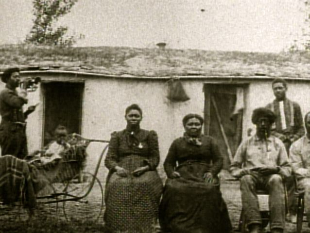 """African American family in the Old West. It certainly wasn't easy for them to get there, as recorded in one family's account:  """"Being Black, Mr. Boyer and Mr. Keyes could not travel by stagecoach or rail, nor could they get secure passage on a wagon train. Undeterred, they set out on foot, and walked the entire distance from Pellum (nowadays known as """"Pelham""""), Georgia to Roswell, New Mexico – a distance of 1,200 miles."""""""
