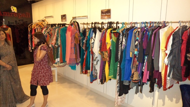 Woman's Fashion store at the Diwali Bazaar, Forum Mall.
