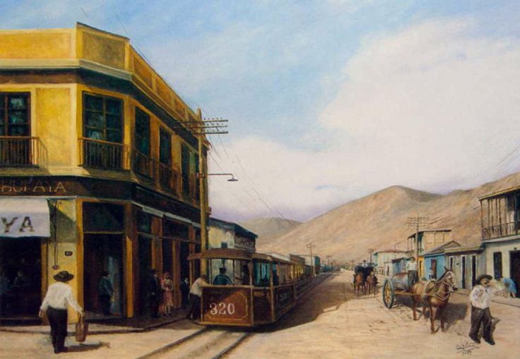 Luis Núñez, artista plástico #Antofagasta #Chile. El aguador, 1900. Óleo sobre tela.