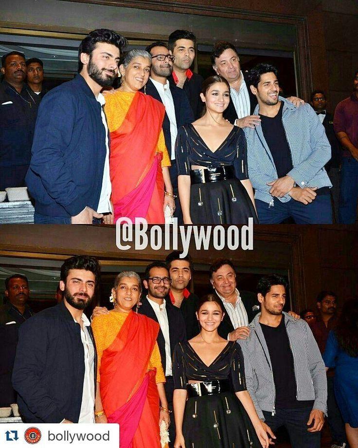 #Repost @bollywood  The Kapoor and Sons team pose for a pic at the success bash of their movie. @BOLLYWOOD  . . #Instabollywood #bollywood #india #indian #desi #mumbai #delhi #noida #gurgaon #bangalore #benguluru #jaipur #ahemdabad #surat #pune #indore #bollywoodstyle #bollywoodfashion #indianstyle #sidharthmalhotra #aliabhatt #fawadkhan #karanjohar #shakunbatra @BOLLYWOOD  . For more follow #BollywoodScope and visit http://bit.ly/1pb34Kz