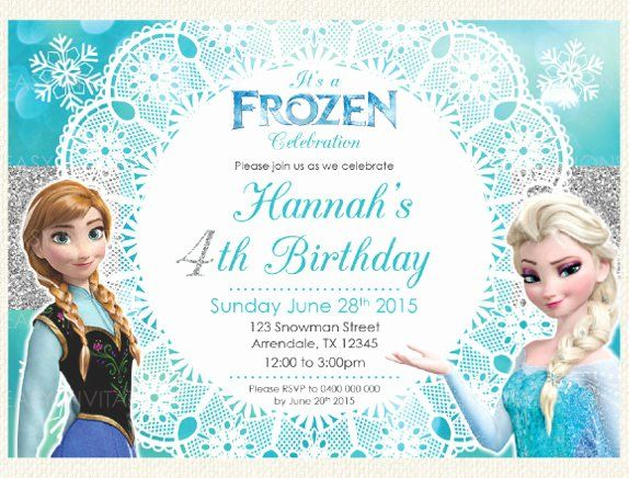 Frozen Bday Party Invites Inspirational 12 Frozen Birthday Invitation Psd Ai Vector Eps Frozen Invitations Party Invite Template Frozen Birthday Invitations