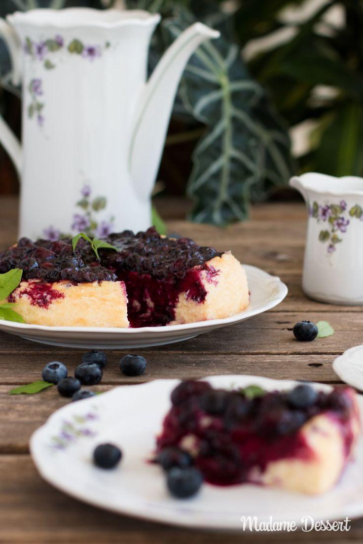Blueberry Cheesecake Ohne Boden Cheesecake Kasekuchen Rezepte