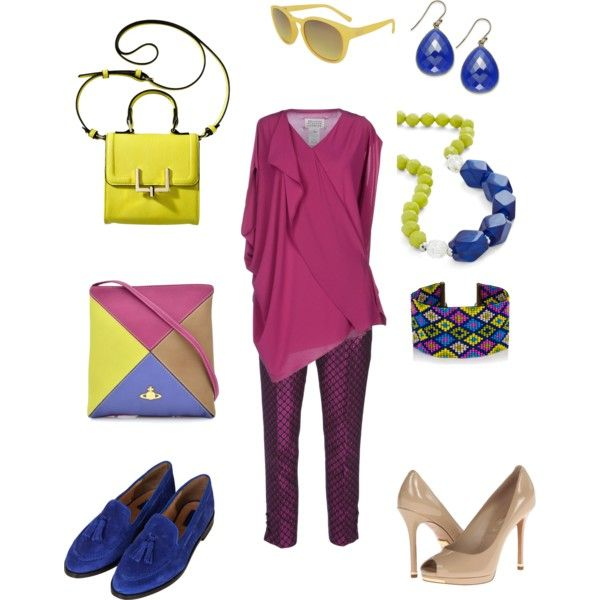 """Lime purple"" by lovemybodyru on Polyvore"