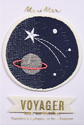 Space Voyager Iron On Patch – The Bullish Store- #patch #ironon #science #nasa #space #stem #voyager #spaceship #kids #children #getbullish