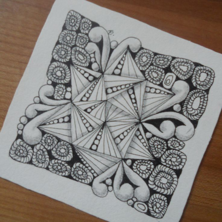 Zentangle Karima Christine Ritter 2015