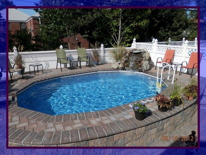 78 Reference Of Above Ground Pool Decorating Ideas Small Inground Pool Backyard Pool Cost Small Backyard Pools