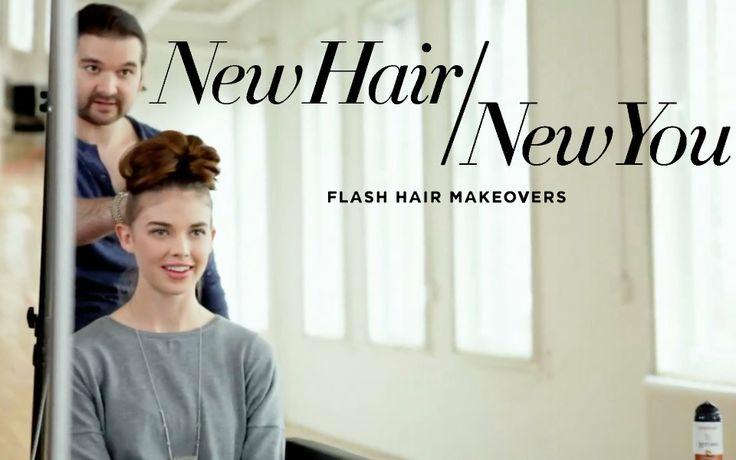 Updo Hairstyles   Elegant Chignon Bun   New Hair New You Makeover   Pant...