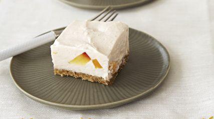 PHILADELPHIA Peaches 'N Cream No-Bake Cheesecake