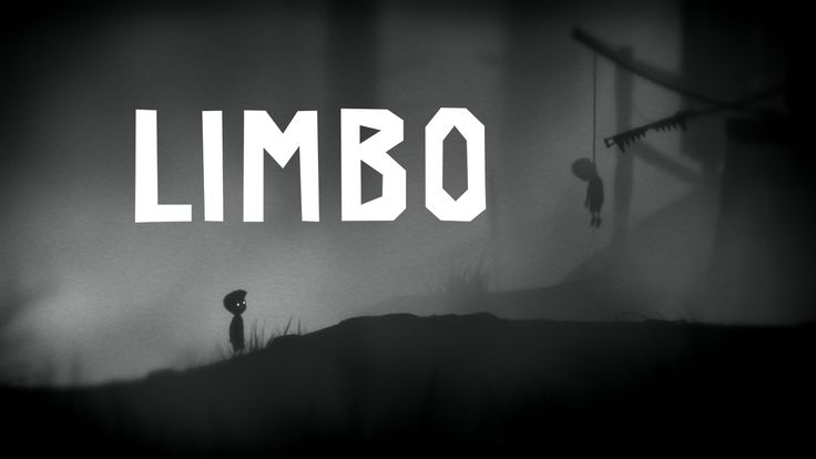 LIMBO - fully grayscale, heavy use of depth-of-field, parallax