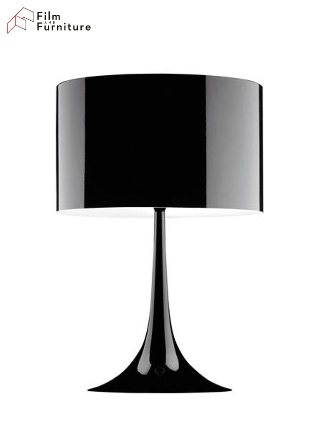 Inside Christian Grey's master bedroom are these magnificent table lights by Flos. Get your own at http://filmandfurniture.com #FiftyShades #FiftyShadesDarker #AnastasiaSteele #ChristianGrey #lighting #interiordesign #designinspiration #homedecor