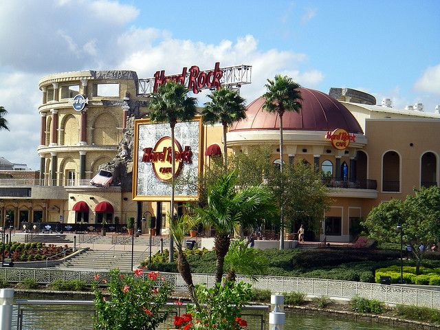 Hard Rock Cafe, Orlando, Florida. Largest HRC in the world! My show choir performed there in high school.