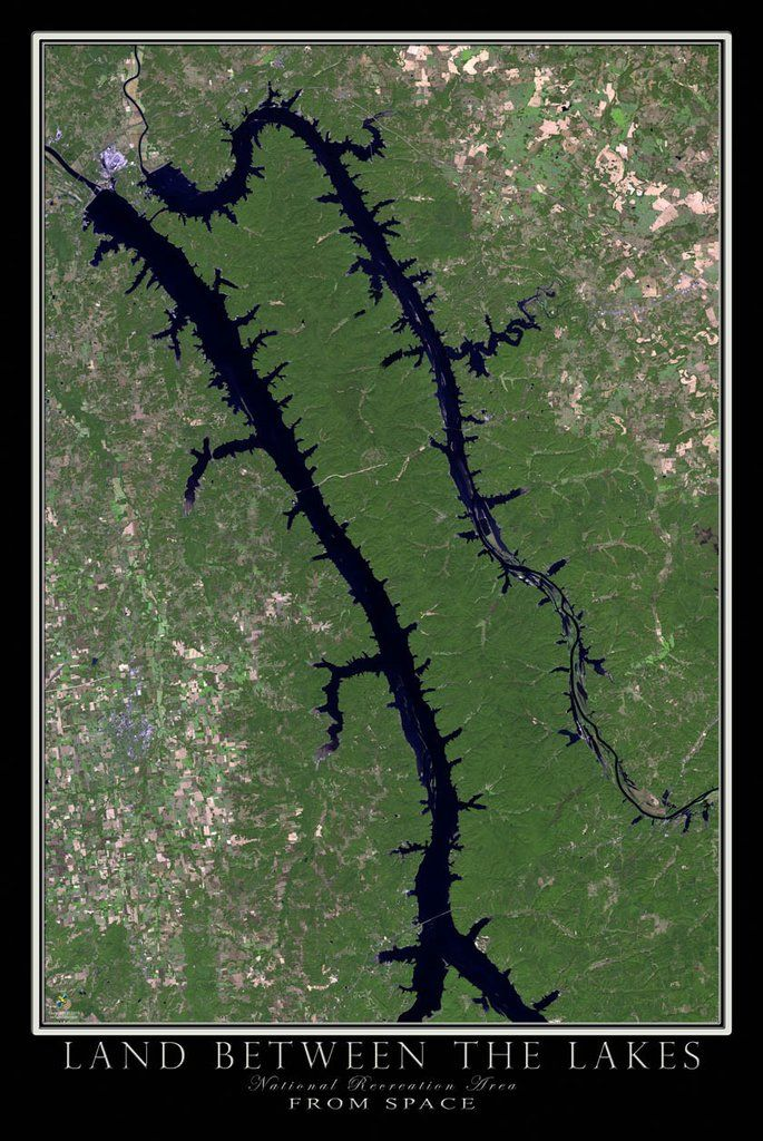 Map Of Kentucky Lakes