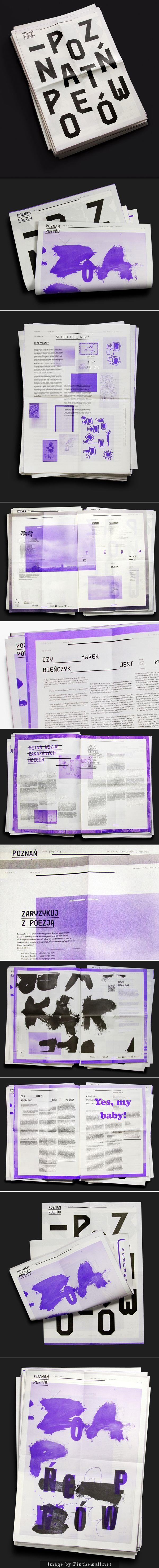 Poetsu0027 Poznan u2013 Newspaper by Marcin Markowski
