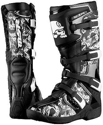 MSR Metal Mulisha ATV Motocross MX Dirt Trail Boots Black 7 8 9 10 11 12 13 14