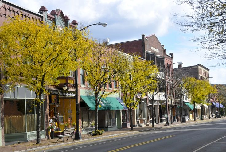 1000 Images About Our Downtown Corning Historic: best small towns to live in usa