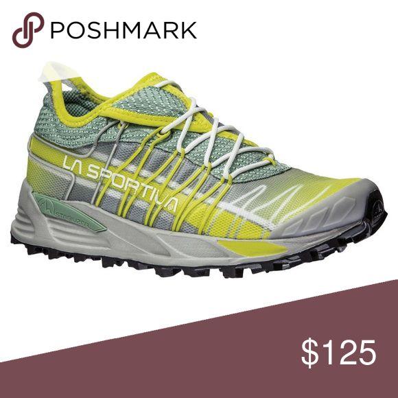 La Sportiva trail running shoes La sportiva mutant model. Color: greenbay. Size: women's 7. A trail running shoe. Brand new in box. La Sportiva Shoes Sneakers