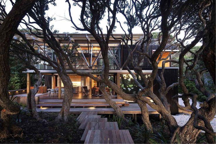 Under Pohutukawa, Auckland, Herbst Architects