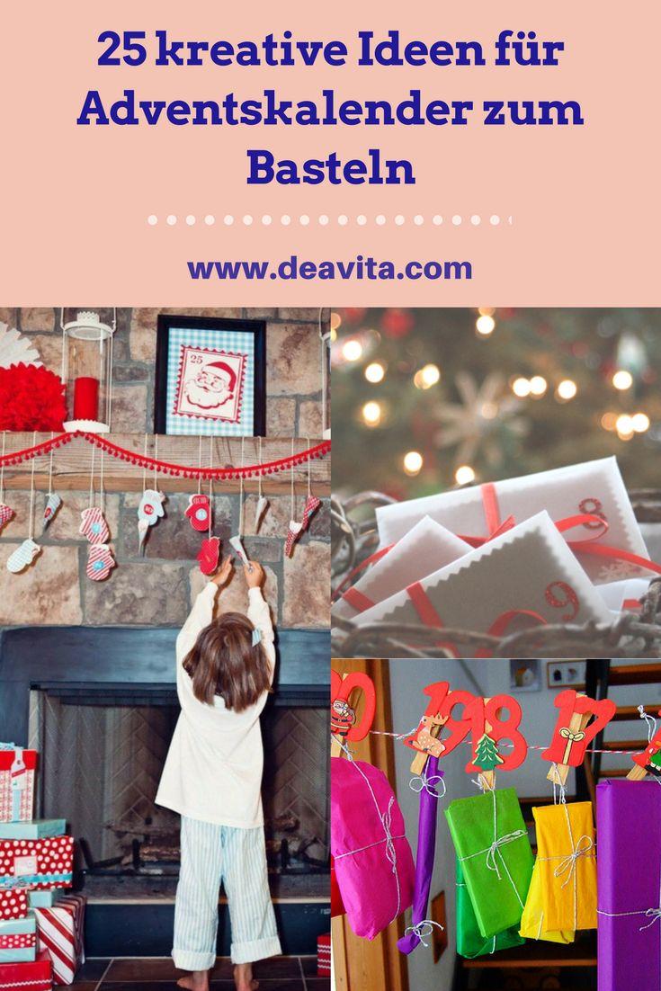 Unsere Ideen F�r Adventskalender Machen Spa� Und Sind Eine Beliebte  M�glichkeit F�r Kinder Und Erwachsene,