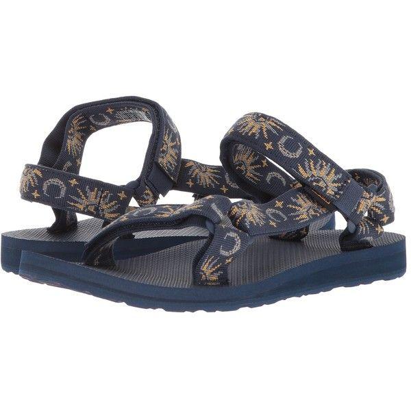 8df102361 Teva Original Universal (Sun and Moon Insignia Blue) Women s Sandals ( 50) ❤