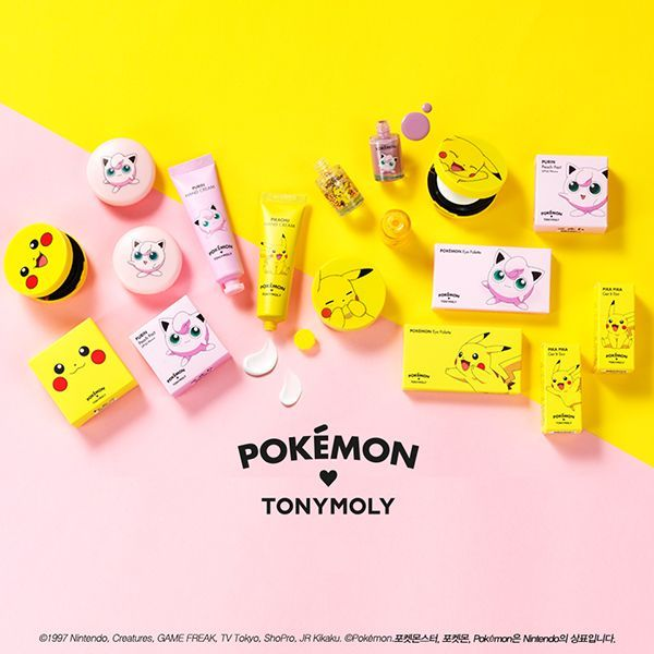 Cute Shopping: Pokémon make-up collection by Tonymoly