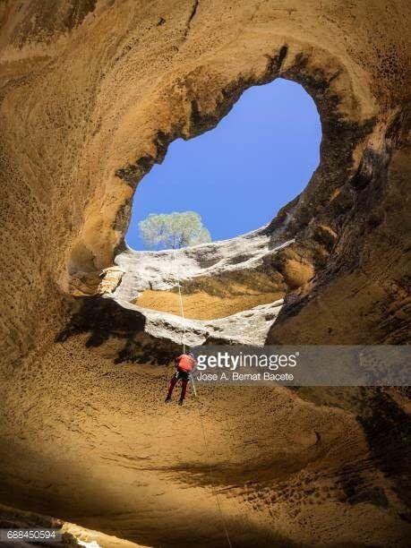 06-22 Cave Interior (Cueva Horadada), Yecla, Castilla la Mancha,... #yecla: 06-22 Cave Interior (Cueva Horadada), Yecla, Castilla… #yecla