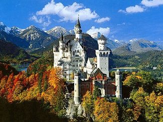 Neuschwanstein Castle, Germany (was there in '85)