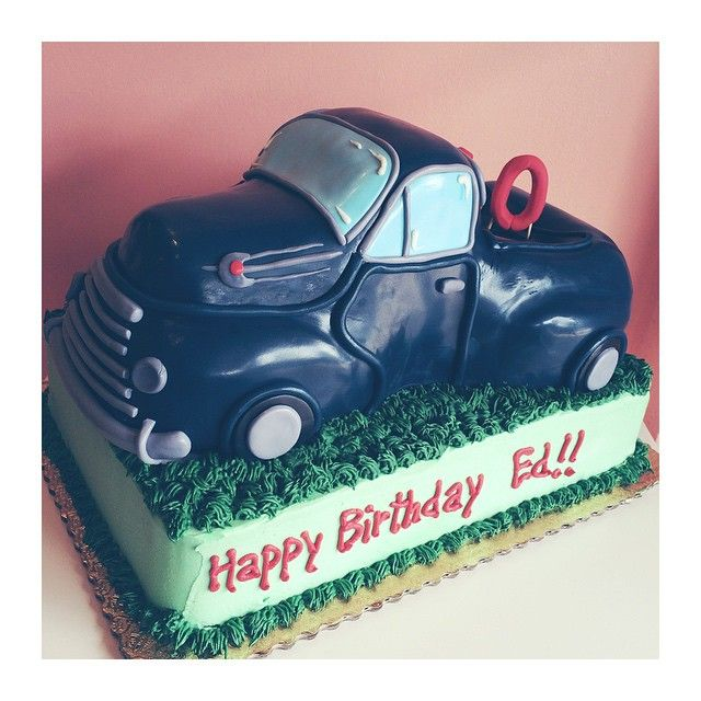 Best Car Cakes Images On Pinterest Car Cakes Bakeries And