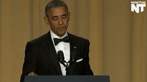 POTUS last White House Correspondents' Dinner.  Obama Out!